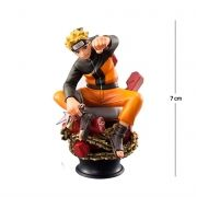 Action Figure Naruto 7CM PVC Base Xadrez