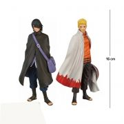 Action Figure Naruto + Sasuke (Edição Boruto)