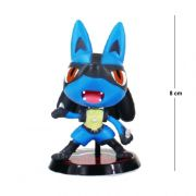 Action Figure Pokemon Lucario 5CM
