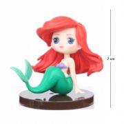 Action Figure Princesas Ariel - 7cm