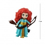 Action Figure Princesas Valente Merida 7CM PVC
