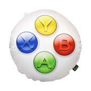Almofada Redonda Botões Xbox - Microsoft - 40X40