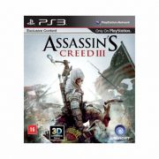 Assassins Creed 3 - PS3