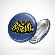 Botton Button Geek Batgirl