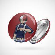 Botton Button Geek Boku no Hero Todoroki
