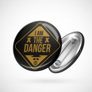 Botton Button Geek Breaking Bad Im the Danger