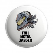 Botton Button Geek Full Metal Jaeger - Circulo de Fogo - 6X6