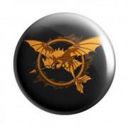 Botton Banguela Tordo Jogos Vorazes - Como Treinar Seu Dragão - 6X6