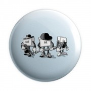 Botton Button Geek Control+Alt+Del