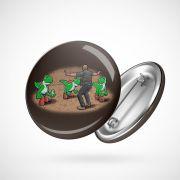 Botton Button Geek Jurassic Park Yoshi