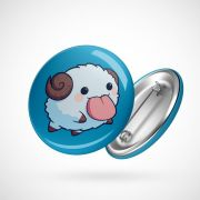 Botton Button Geek League of Legends Poros 2