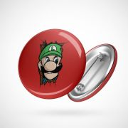Botton Button Geek Luigi