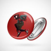 Botton Button Geek Miles Morales Aranhaverso