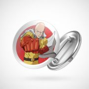 Botton Button Geek One Punch Man Saitama mod. 2