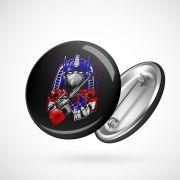 Botton Button Geek Optimus Prime