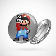 Botton Button Geek Mario