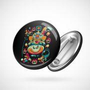 Botton Button Geek Super Mario Bowser
