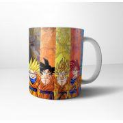 Caneca Cerâmica DBZ Dragon Ball Evolução Goku