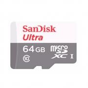 Cartão De Memória Micro SD Sandisk Ultra - 64Gb 80Mb/s (OEM)