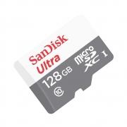 Cartão de Memória Micro SD Ultra Sandisk - 128GB 80MB/s (OEM)