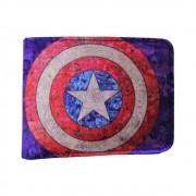 Carteira Capitão América - Vingadores Marvel - Courino