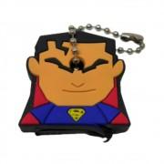 Chaveiro Capa de Chave Super Homem - Liga Da Justiça DC - 4CM