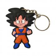 Chaveiro Emborrachado Goku - Dragon Ball Z - 5CM