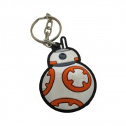 Chaveiro Emborrachado BB-8 - Star Wars BB - 5CM