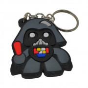 Chaveiro Emborrachado Darth Vader - Star Wars - 5CM