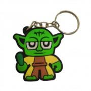 Chaveiro Emborrachado Yoda - Star Wars - 5CM