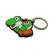 Chaveiro Emborrachado Yoshi - Super Mario - 5CM