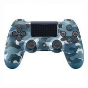 Controle Sony Dualshock 4 Azul Camuflado