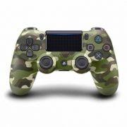 Controle Sony Dualshock 4 Green Camo