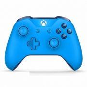 Controle Xbox One Microsoft Sem Fio Groovy Blue