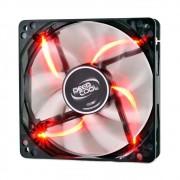 Cooler FAN DeepCool Wind Blade 120mm Red LED DP-FLED-WB120