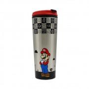 Copo Térmico Para Viagem Mario - Super Mario - 450ML