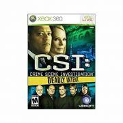 CSI: Crime Scene Investigation - XBOX 360