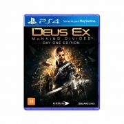 Deus Ex Mankind Divided - PS4
