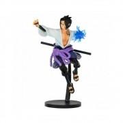 Figure Banpresto Sasuke Uchiha - Naruto Shippudem - 15CM