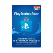 Gift Card PlayStation R$100
