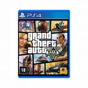 GTA Grand Theft Auto V - PS4