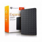 HD Seagate Externo Seagate Plus USB 3.0 2TB Preto
