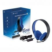 Headset Silver Wired Stereo - PS3/PS4/PC/PS Vita