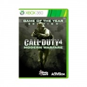 Jogo Call of Duty 4: Modern Warfare Game Of The Year Edition - Xbox 360