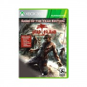 Jogo Dead Island Game of The Year Edition Platinum Hits - Xbox 360