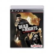 Jogo Dead to Rights: Retribution - PS3