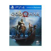 Jogo God of War - Capa de Papel - PS4