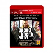 Jogo Grand Theft Auto IV & Episodes From Liberty City GTA The Complete Edition Greatest Hits - PS3