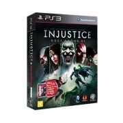 Jogo BOX Injustice Gods Amoung Us - PS3