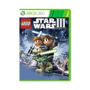 Jogo LEGO Star Wars 3 Clone Wars - Xbox 360